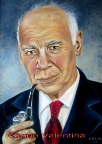 портрет академика Кикоина
